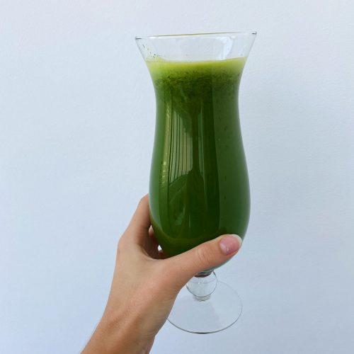 spinach smoothie purrrfect kitchen