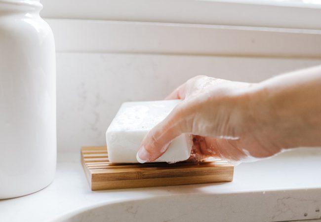 EcoRoots dish washing block